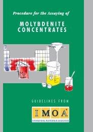 Assaying Molybdenite Concentrates - IMOA
