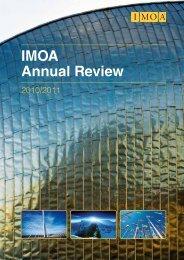 IMOA Annual Review 2010/2011 - Molybdenum Consortium