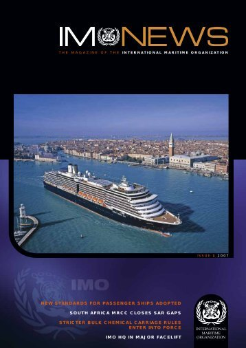 new standards for passenger ships adopted south africa mrcc ... - IMO