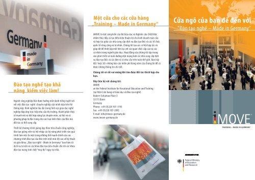Training - Made in Germany - Imove-germany.com