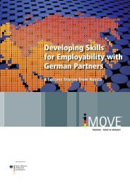 Developing Skills for Employability with German Partners