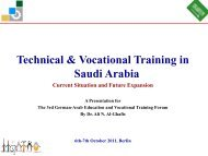 Technical & Vocational Training In Saudi Arabia - Imove-germany.com