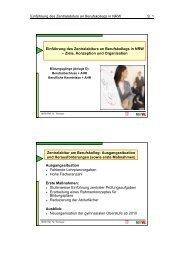 Einführung des Zentralabiturs an Berufskollegs in NRW S. 1 ...