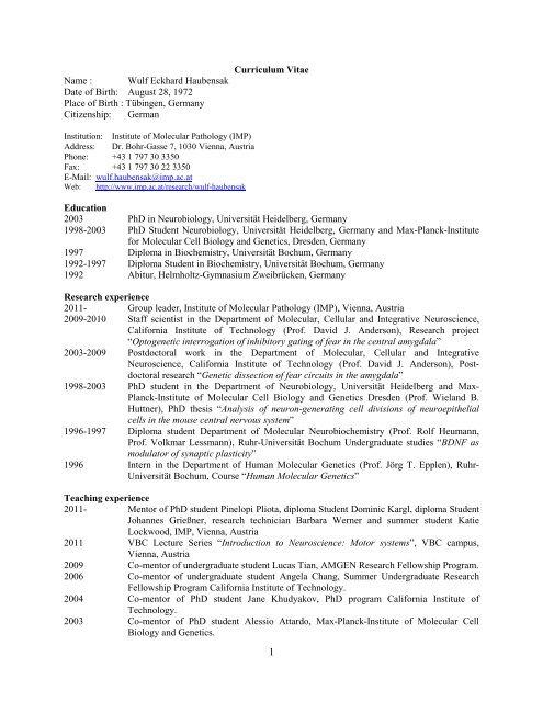 Scientific Cv In Pdf Format Imp