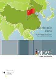 Marktstudie China : für den Export beruflicher Aus- und Weiterbildung