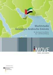 Marktstudie Vereinigte Arabische Emirate - Imove-germany.com