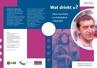 Wat drinkt u? - Impact