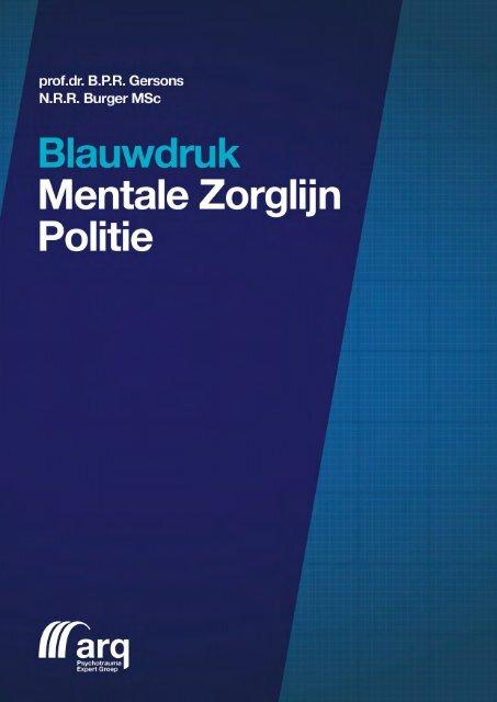 Blauwdruk Mentale Zorglijn Politie - Impact - Arq