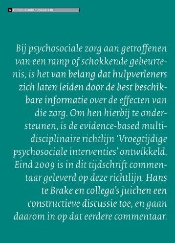 2011_Te Brake et al_De menselijke maat.pdf - Impact