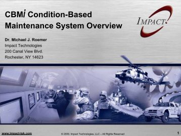 CBMi and S2NAP Overview Presentation - Impact Technologies