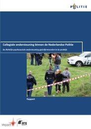 Collegiale ondersteuning binnen de Nederlandse Politie - Impact