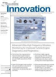 Advanced Vibration Monitoring Diagnostics and ... - AF SBIR/STTR