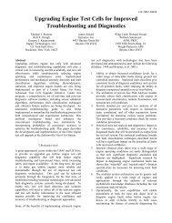 Advanced Vibration Diagnostics for Engine Test Cells - Impact ...