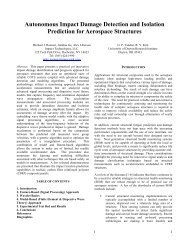 Autonomous Impact Damage Detection and Isolation Prediction for ...