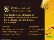 ANSYS Conference Presentation 2008.pdf - Impact Technologies