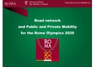 Road network and Public and Private Mobility for the ... - IMPACTS