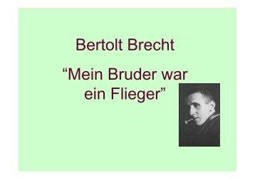 25__brecht mein brud.. - Impariamo il tedesco