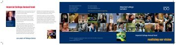 Annual Fund brochure - Imperial College London