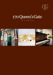 Download the 170 Queen's Gate wedding brochure - Imperial ...