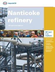 Nanticoke refinery - Imperial Oil