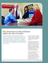 Rapport annuel 2004 - Des personnes et des pratiques ... - Imperial Oil