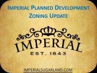 Thursday April 14, 2011 - Imperial Zoning Presentation