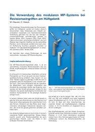 W. Klauser, C. Haack - Implantat - Atlas Zementfreie Hüftpfannen