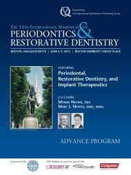 PeRioDoNTiCS ReSToRaTiVe DeNTiSTRy - Implantologia Italia