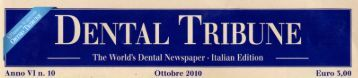 Dental Tribune - Implantologia Italia