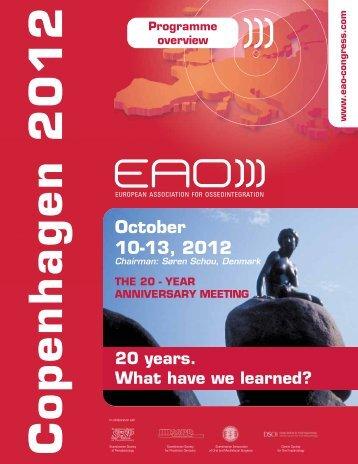 October 10-13, 2012 - Implantologia Italia