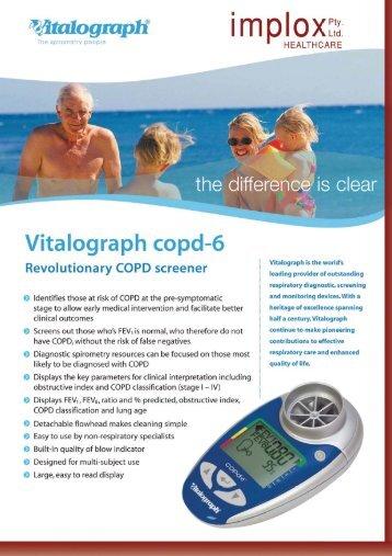 Vitalograph copd-6 - Implox
