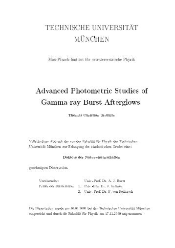 Advanced photometric studies of Gamma-ray Burst Afterglows