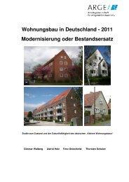 Kurzfassung Studie neu 1 1 - Impulse für den Wohnungsbau
