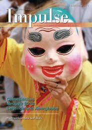 Chinesisches Neujahr 2013: Legende und ... - Impulse Singapur