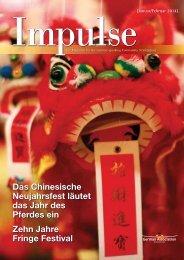 Das Chinesische Neujahrsfest läutet das Jahr des Pferdes ... - Impulse