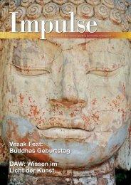 Vesak Fest: Buddhas Geburtstag DAW: Wissen ... - Impulse Singapur