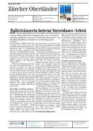 Balletttänzerin betreut Streetdance-Arbeit - Impuls Mittelschule