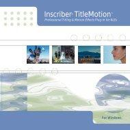 Inscriber Titlemotion