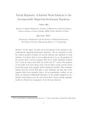 Partial Regularity of Suitable Weak Solutions to the Incompressible ...