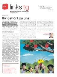 links.tg 138, August 2013 - SP Schweiz