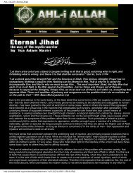 AHL-i ALLAH: Eternal Jihad - Shri Adi Shakti: The Kingdom Of God