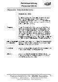 Betriebsanleitung Phonomat SK 25 - Calira - Page 3