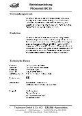 Betriebsanleitung Phonomat SK 25 - Calira - Page 4