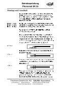 Betriebsanleitung Phonomat SK 25 - Calira - Page 5