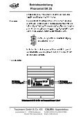Betriebsanleitung Phonomat SK 25 - Calira - Page 6