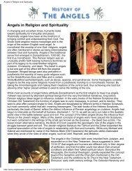 Angels in Religion and Spirituality - Shri Adi Shakti: The Kingdom Of ...