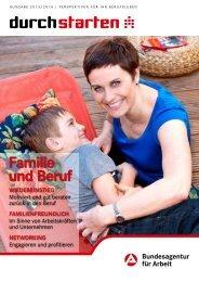 Durchstarten - Familie und Beruf Ausgabe 2013/2014