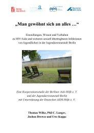 Man gewöhnt sich an alles - Deutsche AIDS-Hilfe e.V.
