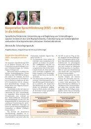 Kooperative Sprachförderung - Deutsche Gesellschaft für ...