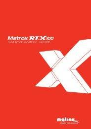 RT.X100 Dokumentation